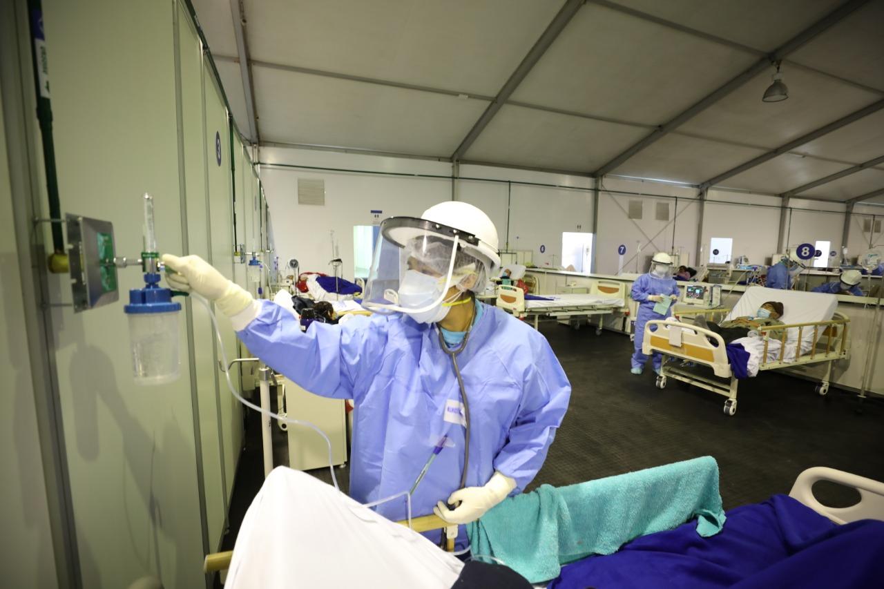 Essalud - EsSalud cuenta con isotanques y plantas de oxígeno para atender pandemia por COVID-19
