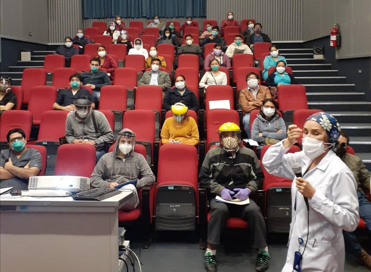 Essalud - EsSalud La Libertad realizó taller de inducción para  profesionales de la red