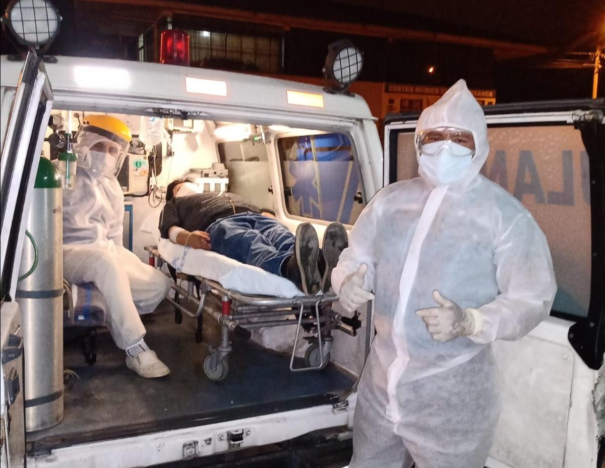 Essalud - EsSalud Juliaca: médico trasladado desde Madre de Dios supera al Covid-19