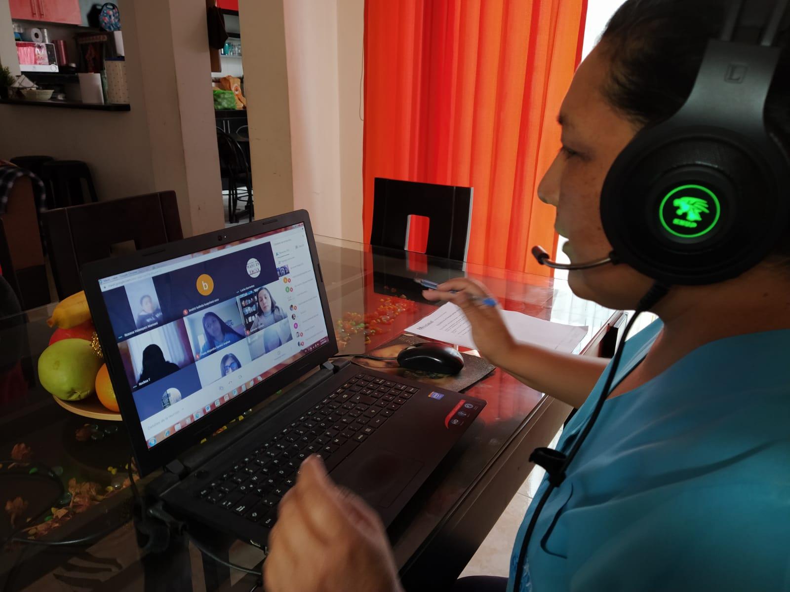 Essalud - EsSalud Tacna realiza taller de inducción a personal Serums, mediante plataforma virtual