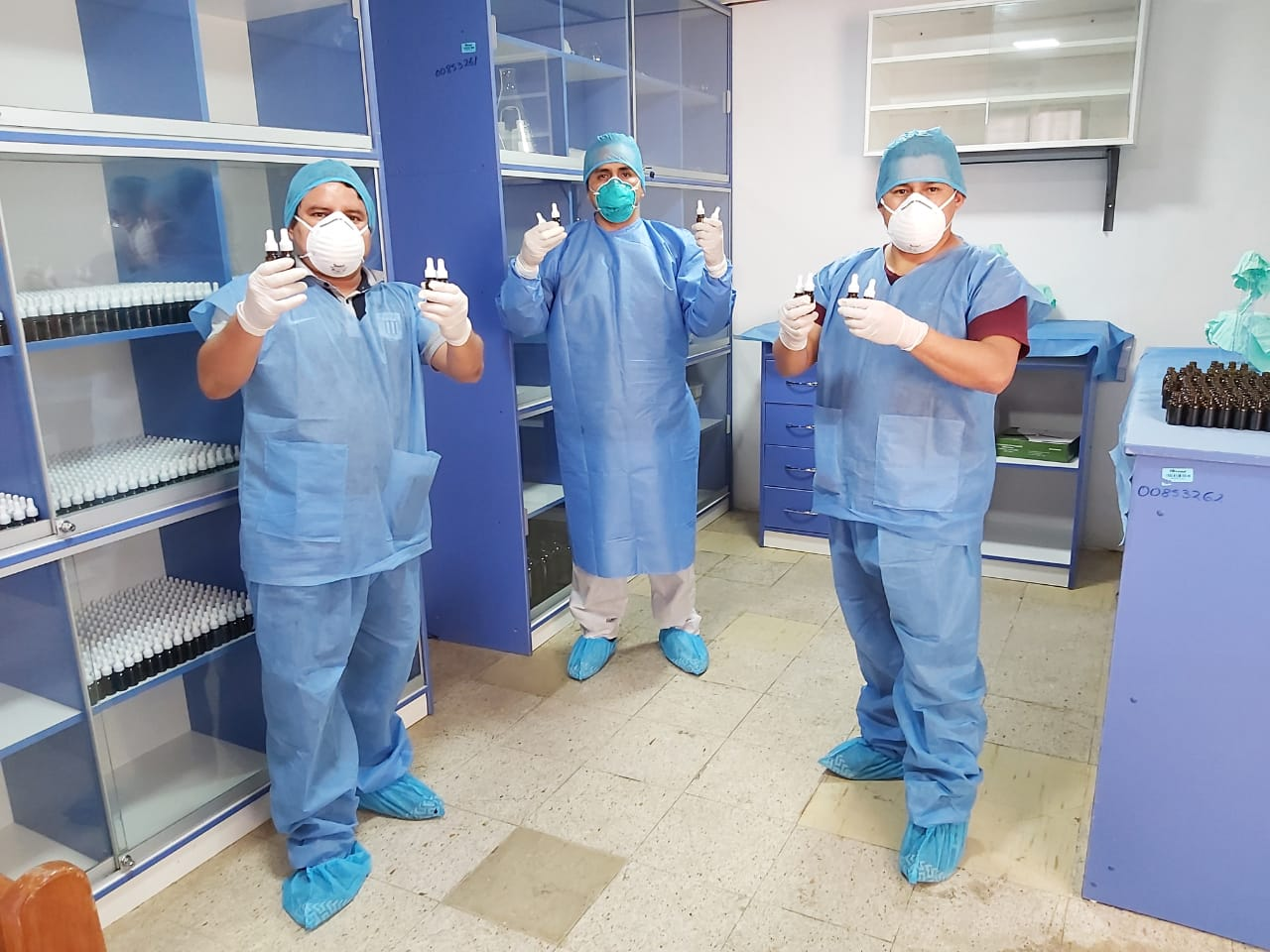 EsSalud Huánuco brinda Asistencia Técnica en producción de Ivermectina a especialistas del Minsa