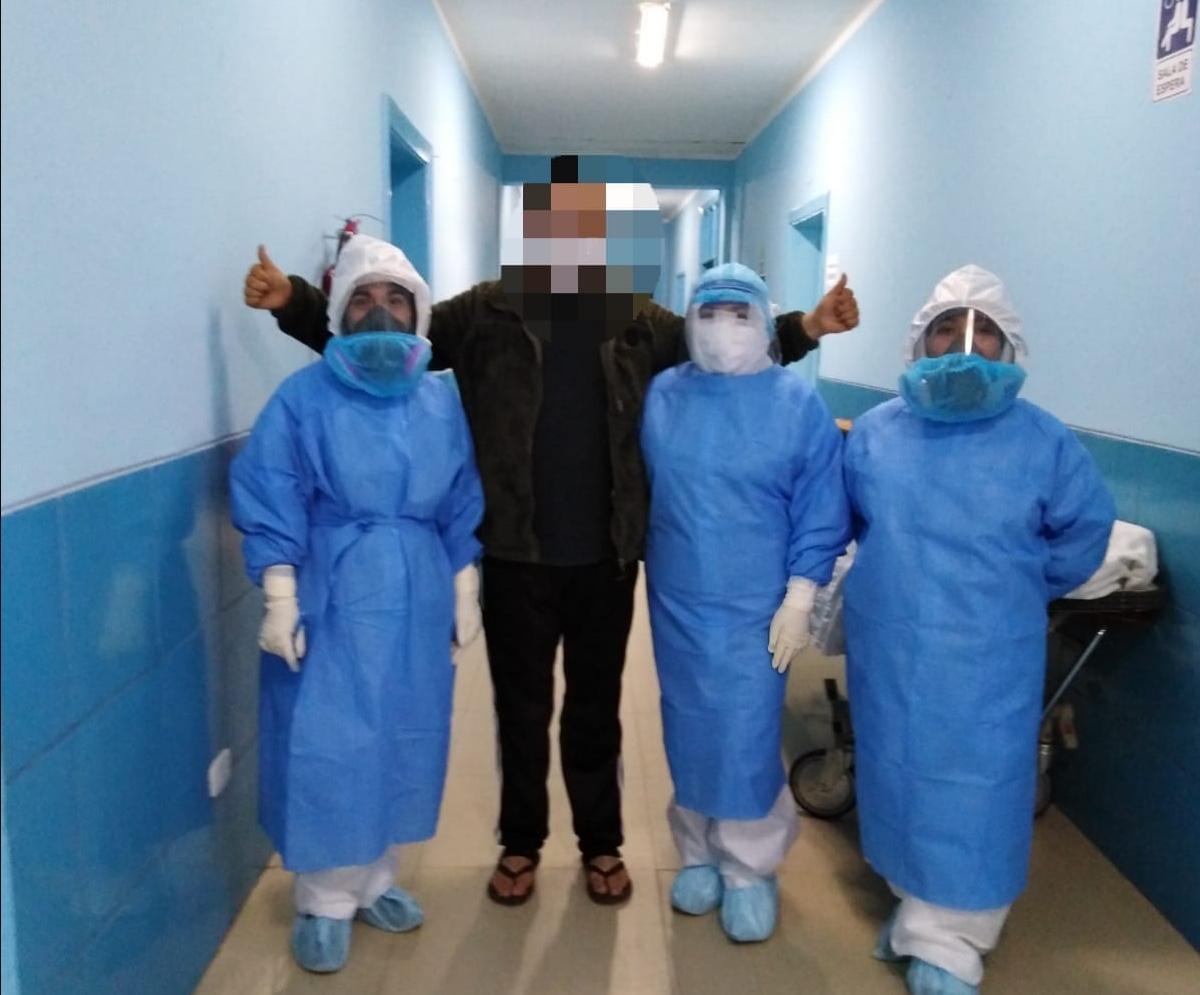 Essalud - En EsSalud Cajamarca, 18 pacientes asegurados regresaron a sus hogares tras vencer al Covid-19