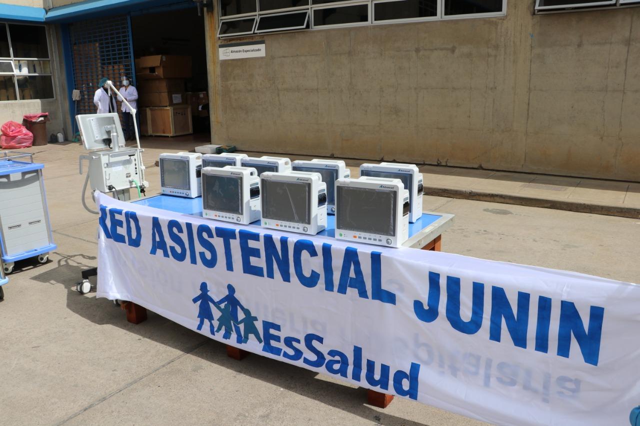 Essalud - EsSalud Junín Implementa nuevo pabellón para atención de pacientes hospitalizados con Covid-19