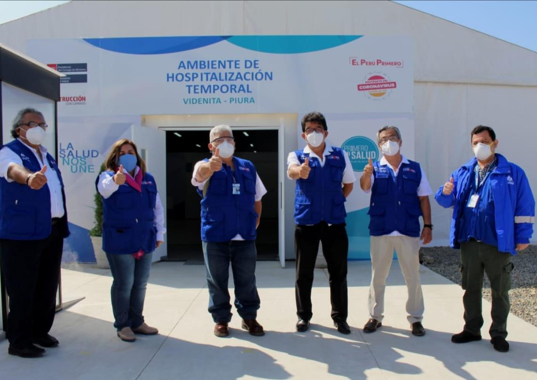EsSalud Piura: en Villa La Videnita se aislará a pacientes leves y moderados con Covid-19