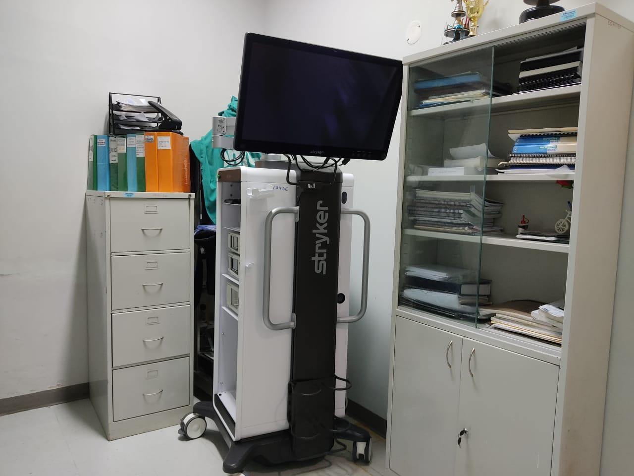 Essalud - En hospital de EsSalud Moyobamba se instala nueva torre laparoscópica