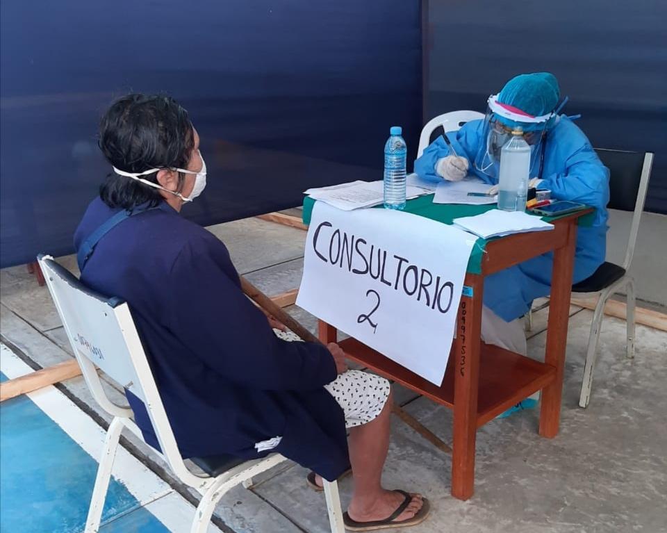 Essalud - EsSalud Tarapoto refuerza atención a pacientes Covid-19 con intervenciones médicas descentralizadas