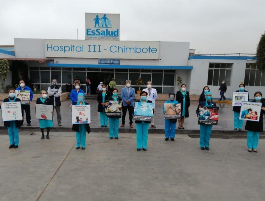 Essalud - EsSalud Áncash reconoce esforzada labor de enfermeras durante pandemia