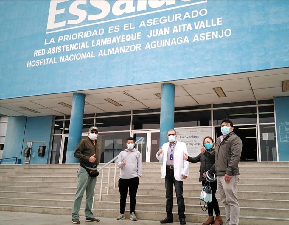 Essalud - EsSalud Lambayeque  refuerza con especialistas la lucha contra el Covid-19 en Moquegua
