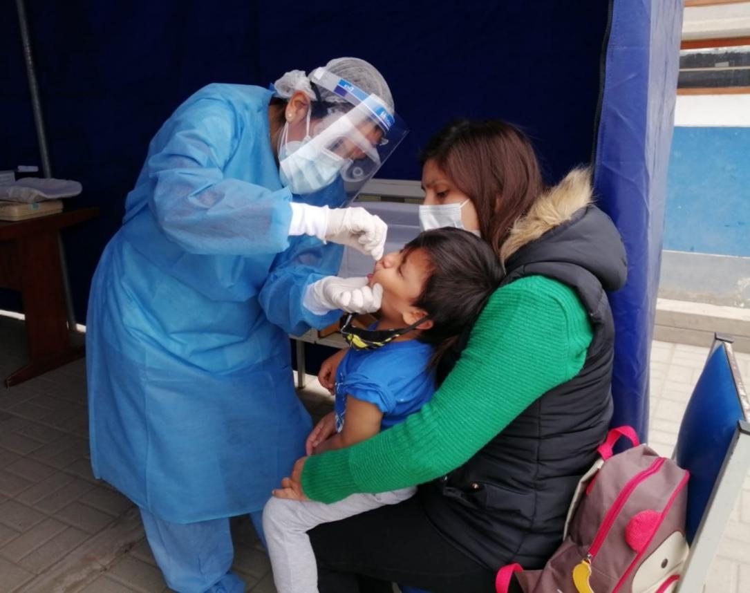 Essalud - EsSalud La Libertad implementa centro de vacunación y atención de la anemia de Policlínico El Porvenir