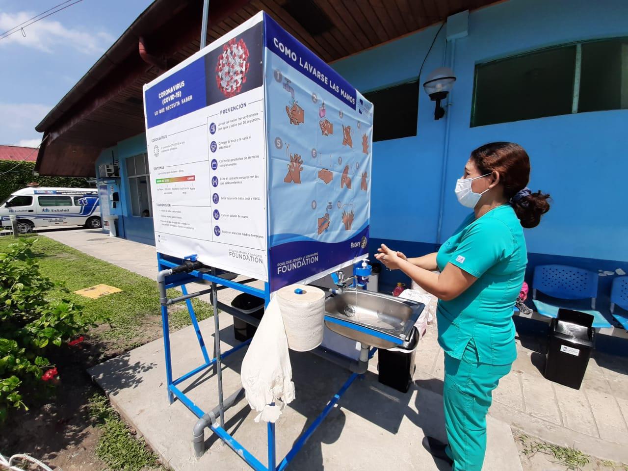 Essalud - EsSalud Loreto refuerza medidas de prevención frente al coronavirus