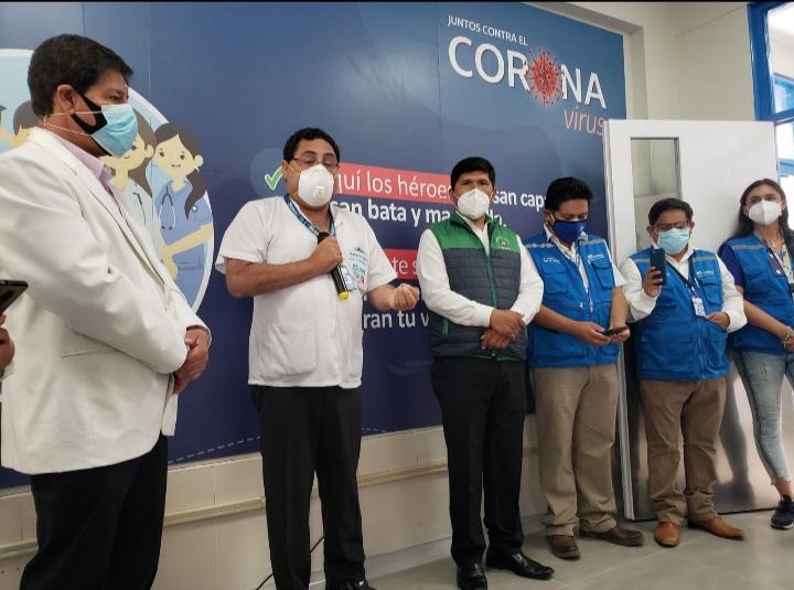 Essalud - Con más camas y equipos, EsSalud Arequipa fortalece servicios en Camaná, en beneficio de pacientes con Covid-19
