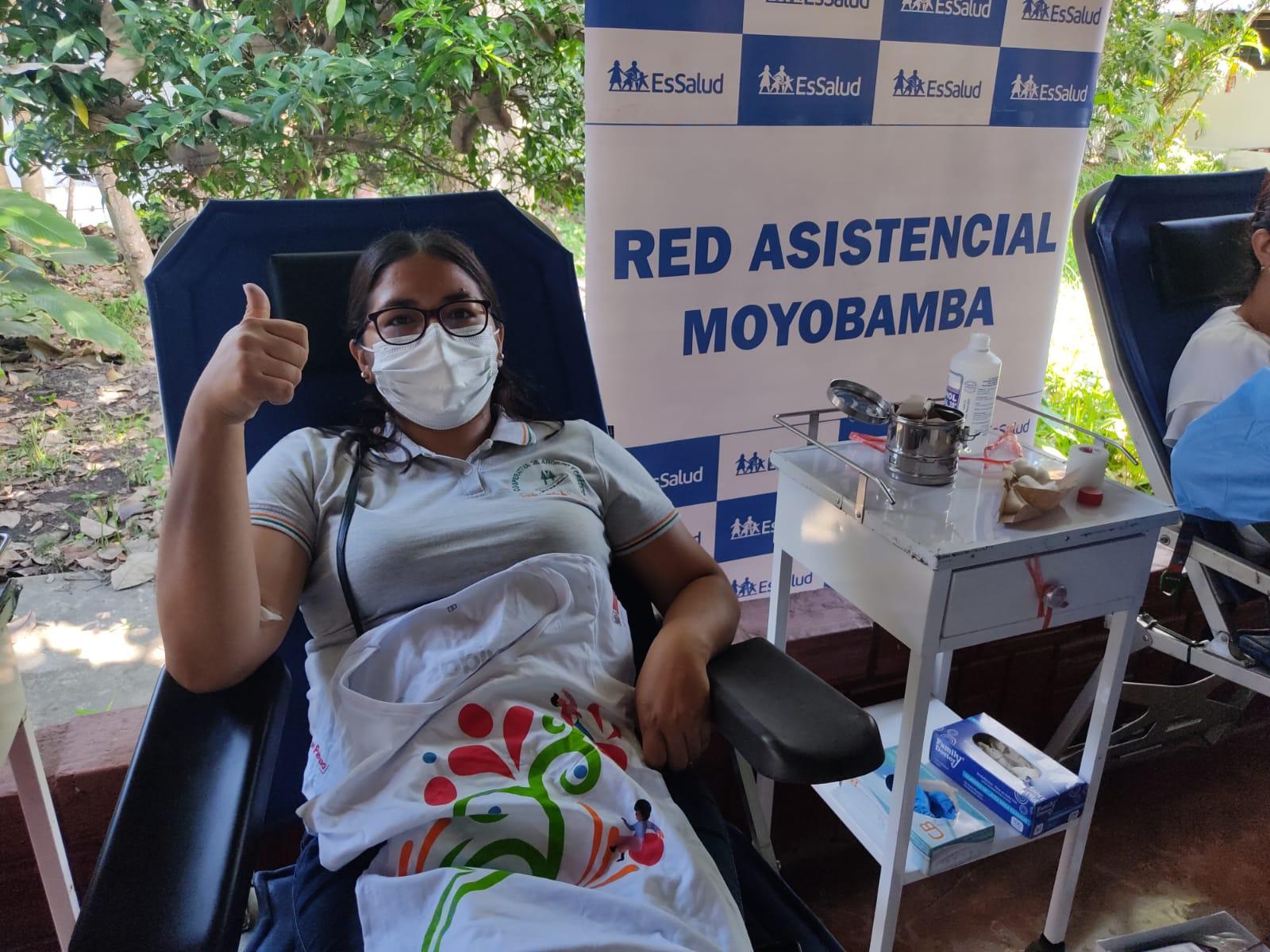 EsSalud Moyobamba continúa jornadas de donación voluntaria de sangre