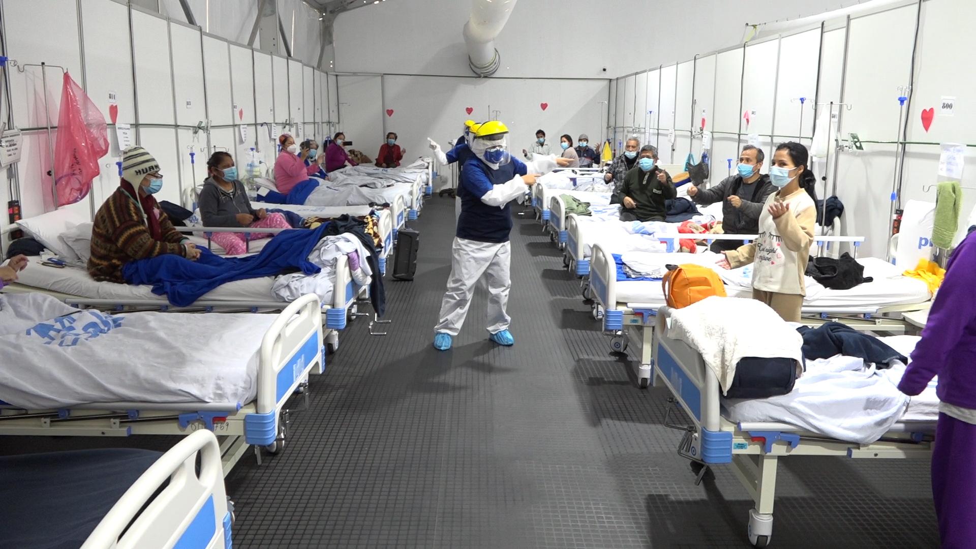 Essalud - En EsSalud pacientes COVID-19 reciben terapias psicológicas especializadas durante su recuperación física