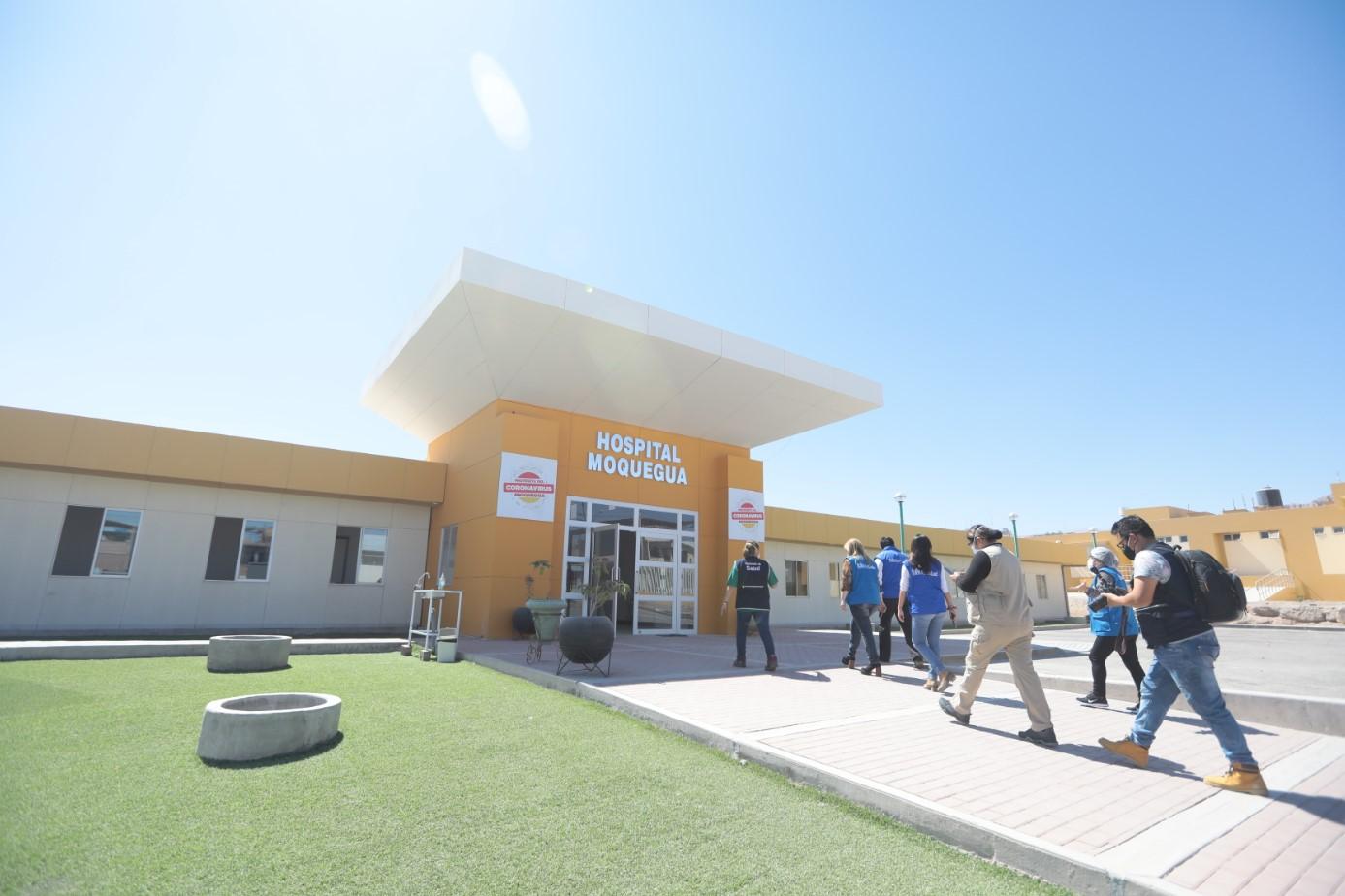 Essalud - Gobierno autorizó a EsSalud administrar Hospitales Regionales de Moquegua y Tacna para atención de pacientes Covid-19