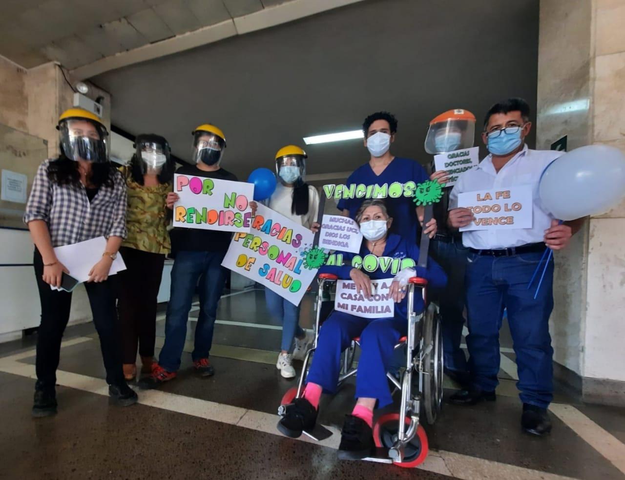 Essalud - EsSalud Arequipa: anciana con enfermedades crónicas venció a la Covid-19 luego de 2 meses en UCI