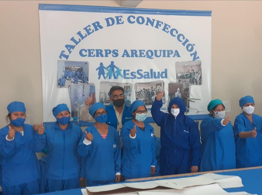 Essalud - EsSalud Arequipa: 60 personas con discapacidad fueron reinsertadas laboralmente durante emergencia sanitaria
