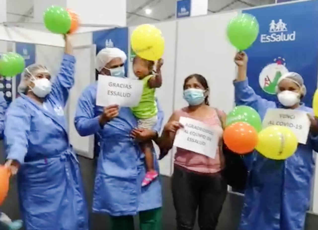 Essalud - EsSalud Madre de Dios: 775 pacientes con Covid-19 recuperaron su salud tras recibir atención especializada