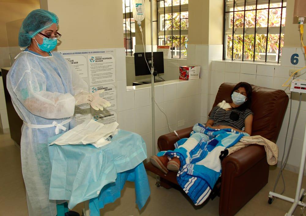 Essalud - EsSalud Piura: pacientes oncológicos recibieron más de 1500 quimioterapias durante pandemia por Covid-19