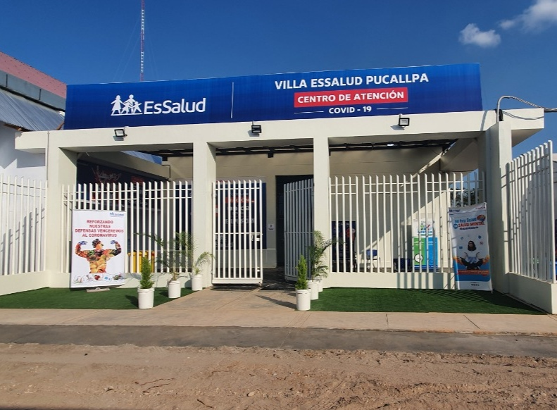 Villa EsSalud Pucallpa reestructura sus instalaciones ante disminución de casos de Covid-19