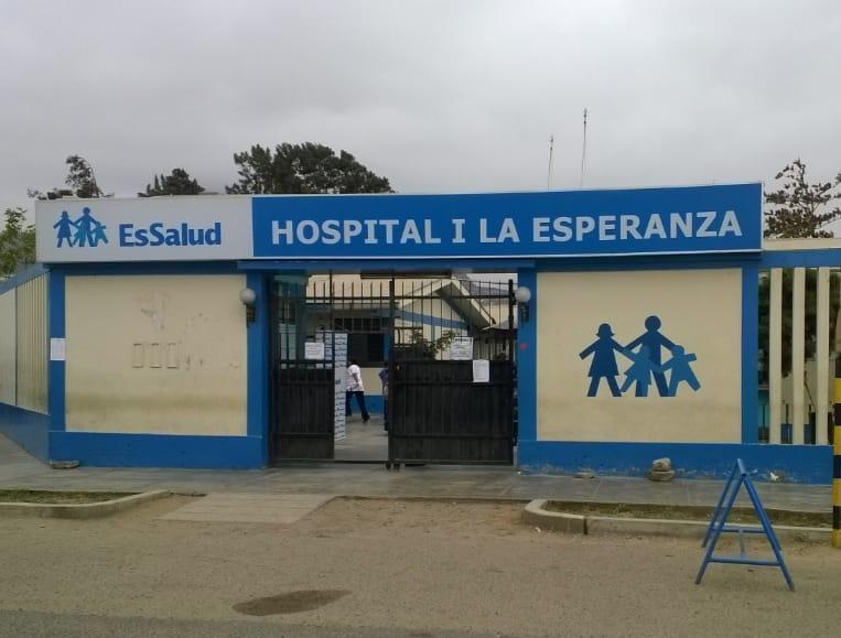 Hospital La Esperanza de EsSalud La Libertad otorga citas médicas mediante las redes sociales