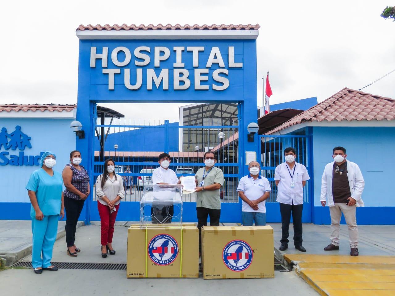 Essalud - EsSalud Tumbes y Arzobispado se unen para fortalecer protección de profesionales de la salud en esa región