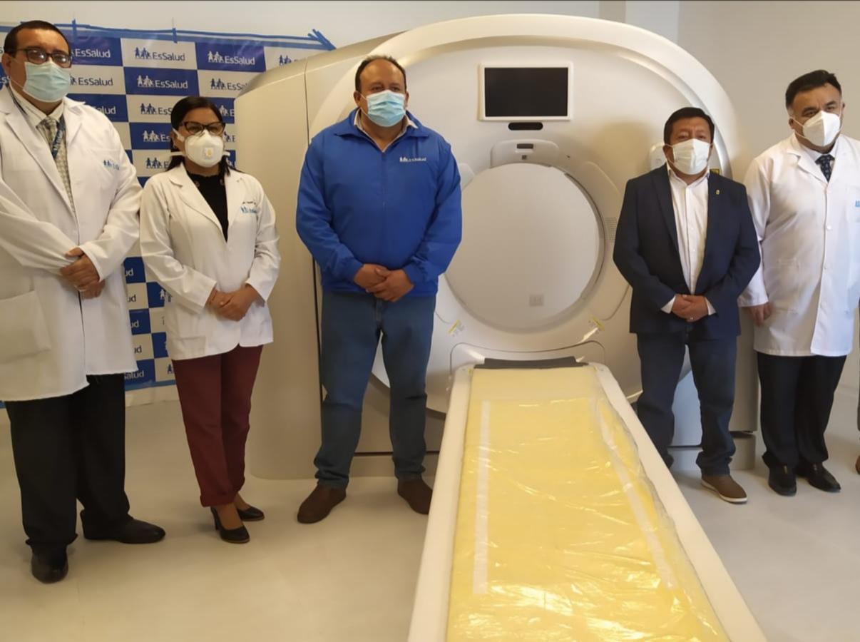 Essalud - Hospital Gustavo Lanatta de EsSalud pondrá en funcionamiento el primer tomógrafo del Norte Chico