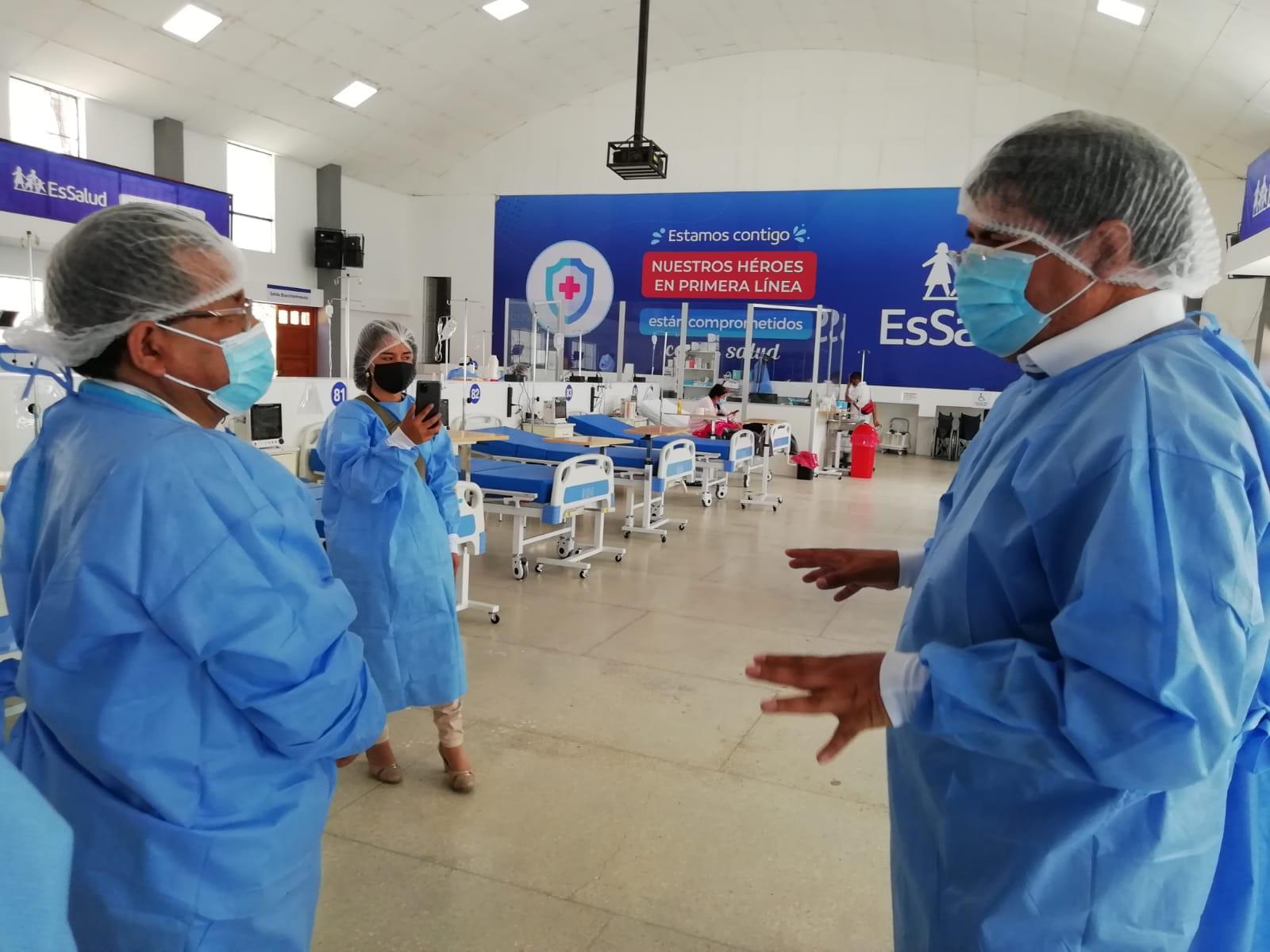 EsSalud Huánuco recibió planta de oxígeno para atención de pacientes Covid-19