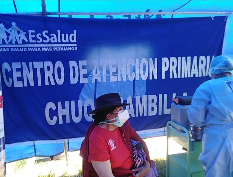 Essalud - EsSalud Apurímac vacunó a menores de 5 años y mayores de 60 años