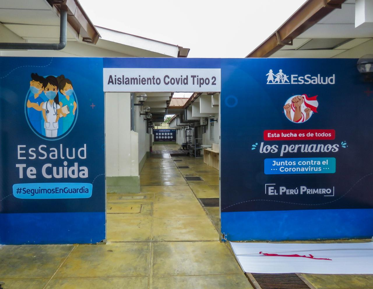 Essalud - EsSalud Tumbes triplicará la cantidad de camas para pacientes Covid-19