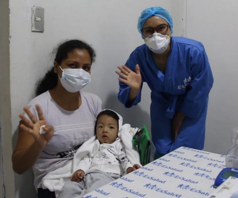 Essalud - EsSalud Tarapoto realiza tamizaje contra la anemia a niños menores de 3 años