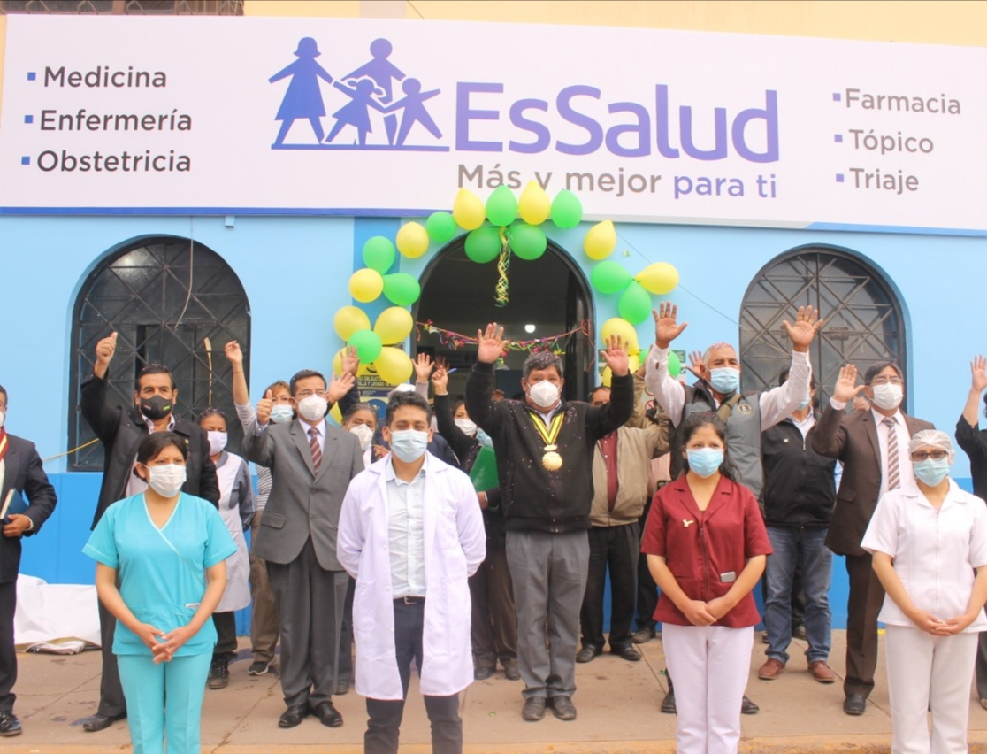 Essalud - EsSalud Cusco inaugura consultorios en la provincia de Anta