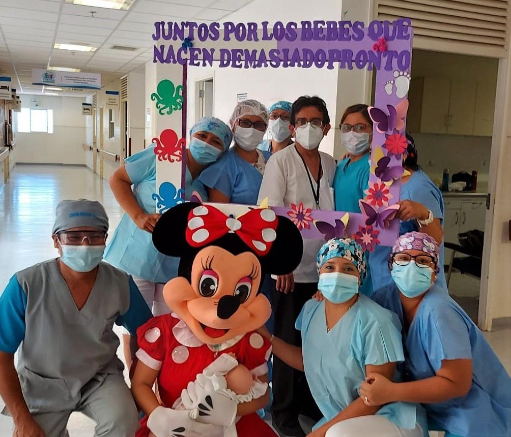 Essalud - EsSalud Tarapoto conmemoró el Día Mundial del Niño Prematuro
