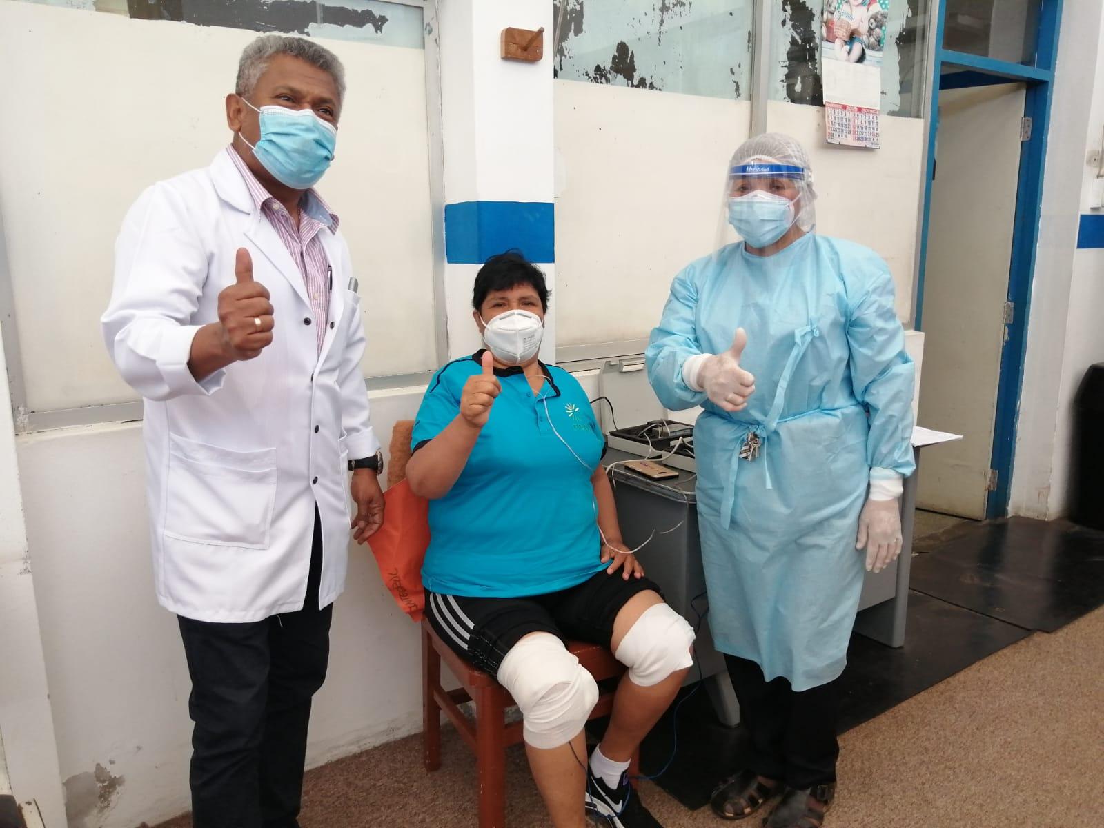 Essalud - En EsSalud Áncash pacientes post covid logran recuperación con terapias de rehabilitación