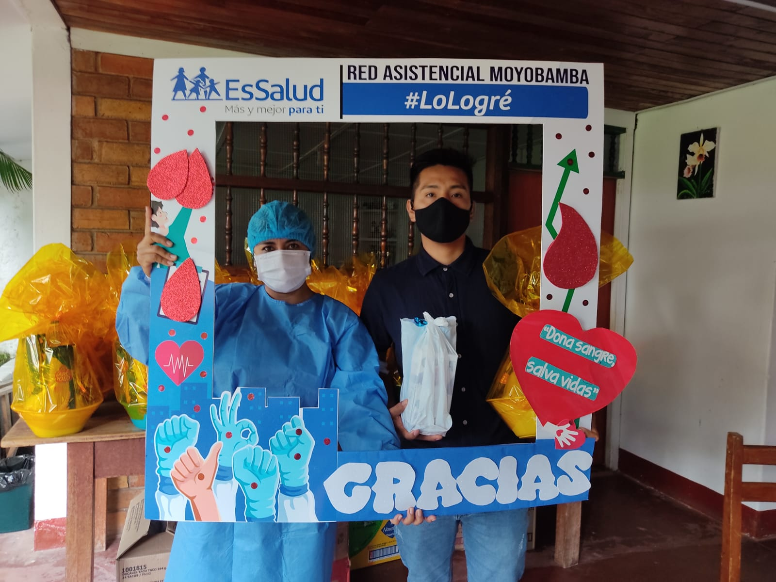 Essalud - EsSalud Moyobamba realizó jornada de donación voluntaria de sangre