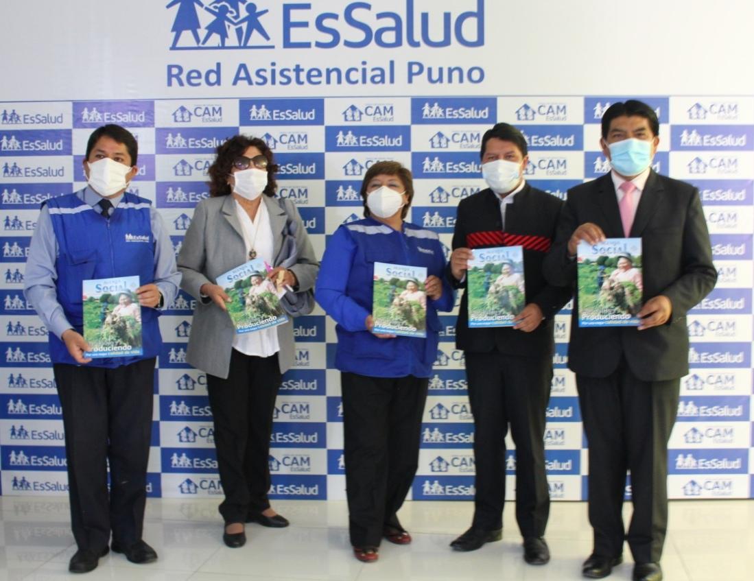 Essalud - EsSalud Puno: nuevo local del CAM para adultos mayores de la región