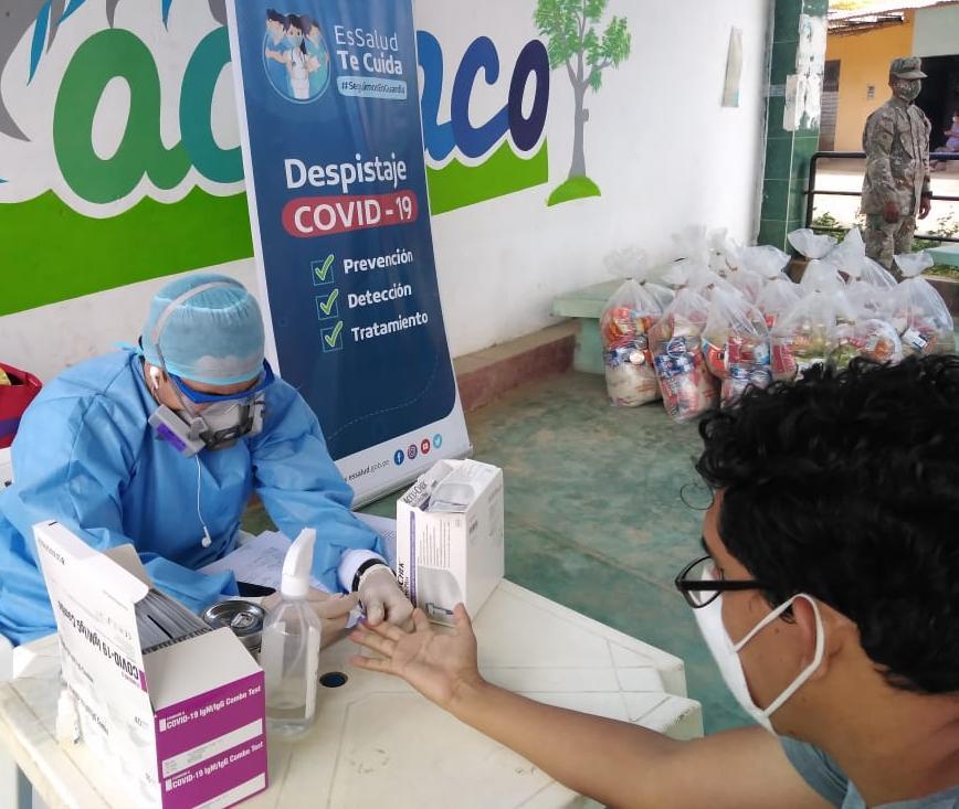 Essalud - OPS premia a EsSalud Lambayeque por sistema de control de pacientes Covid-19