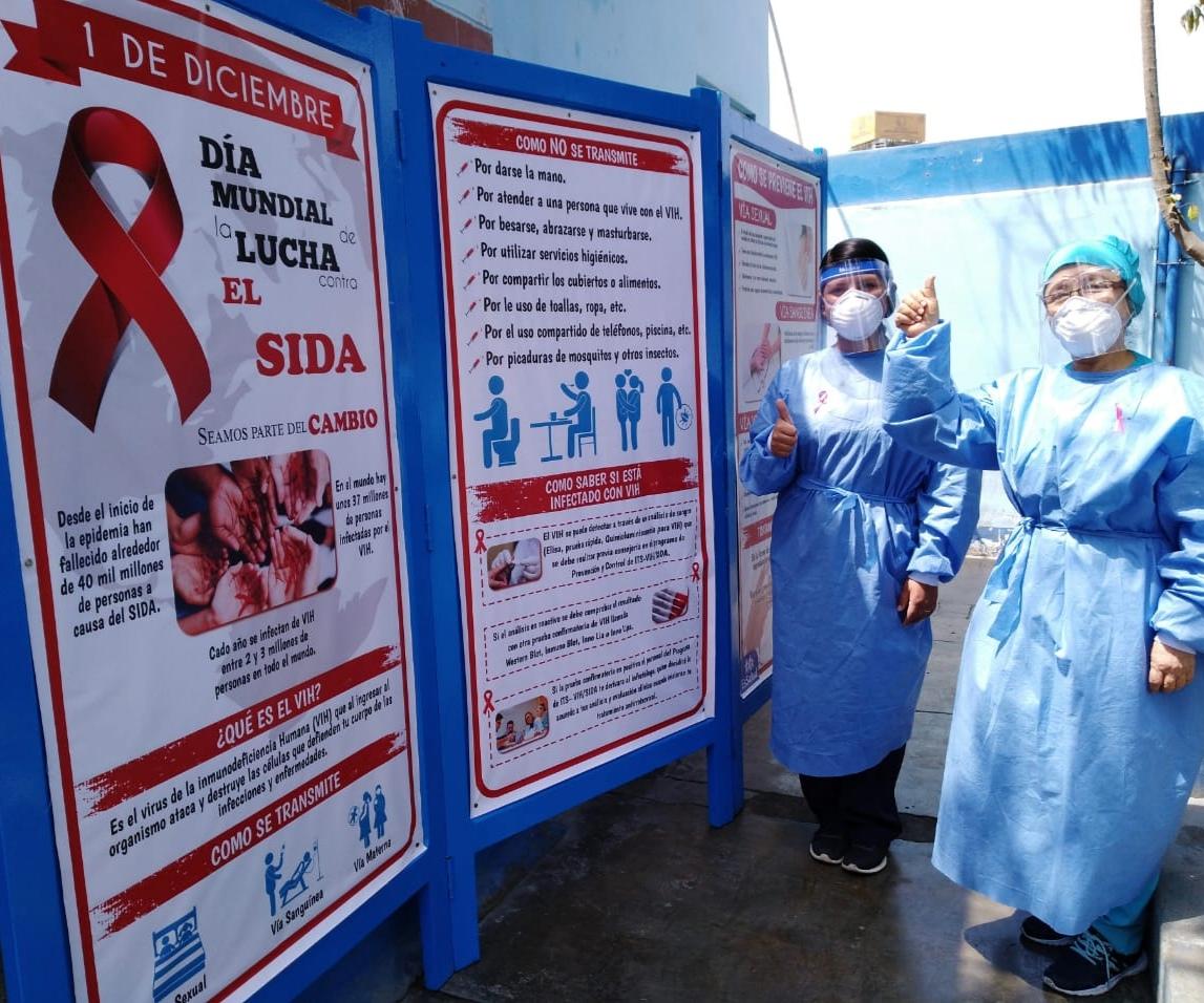 Essalud - EsSalud Áncash intensifica campañas de prevención del VIH Sida