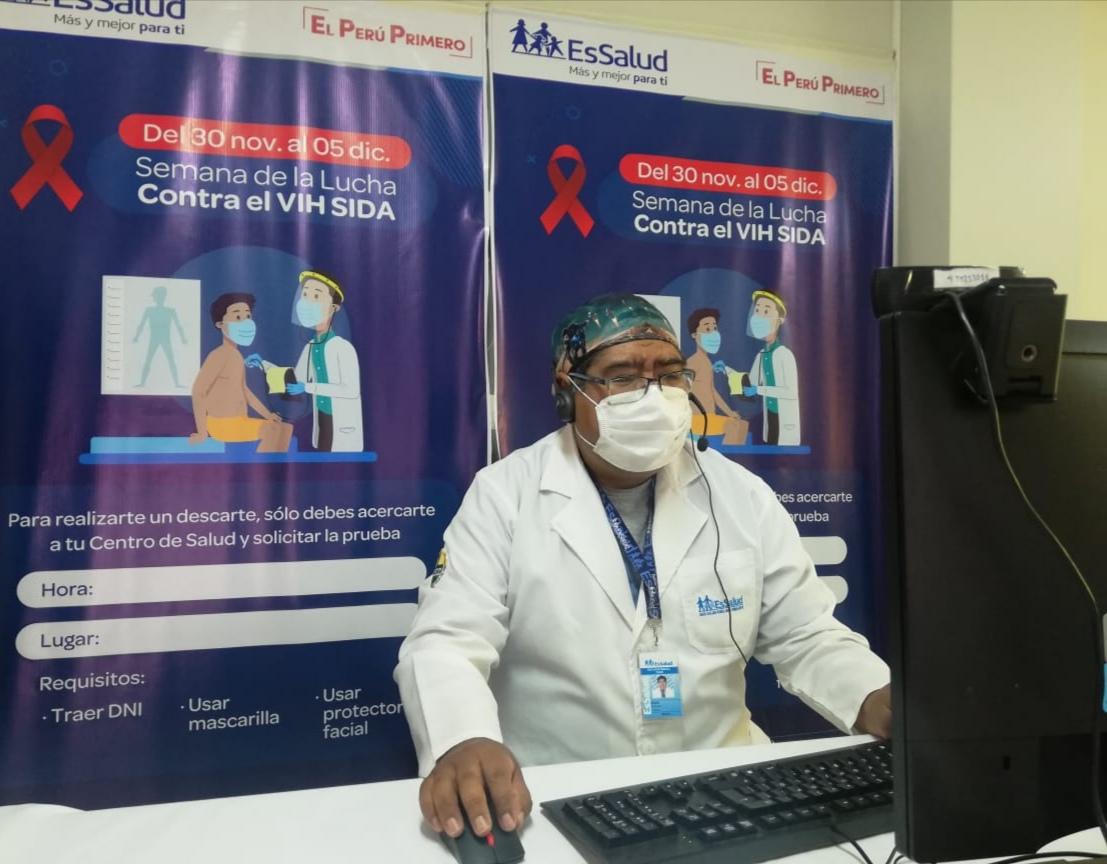 Essalud - EsSalud Puno inicia actividades por la Semana de la lucha contra el VIH-SIDA