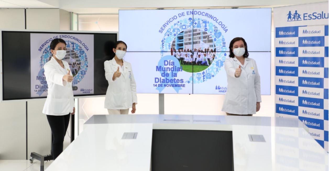 Essalud - Hospital Rebagliati de EsSalud atendió cerca de 7,000 consultas y hospitalizó a más 2,200 pacientes diabéticos durante el 2020