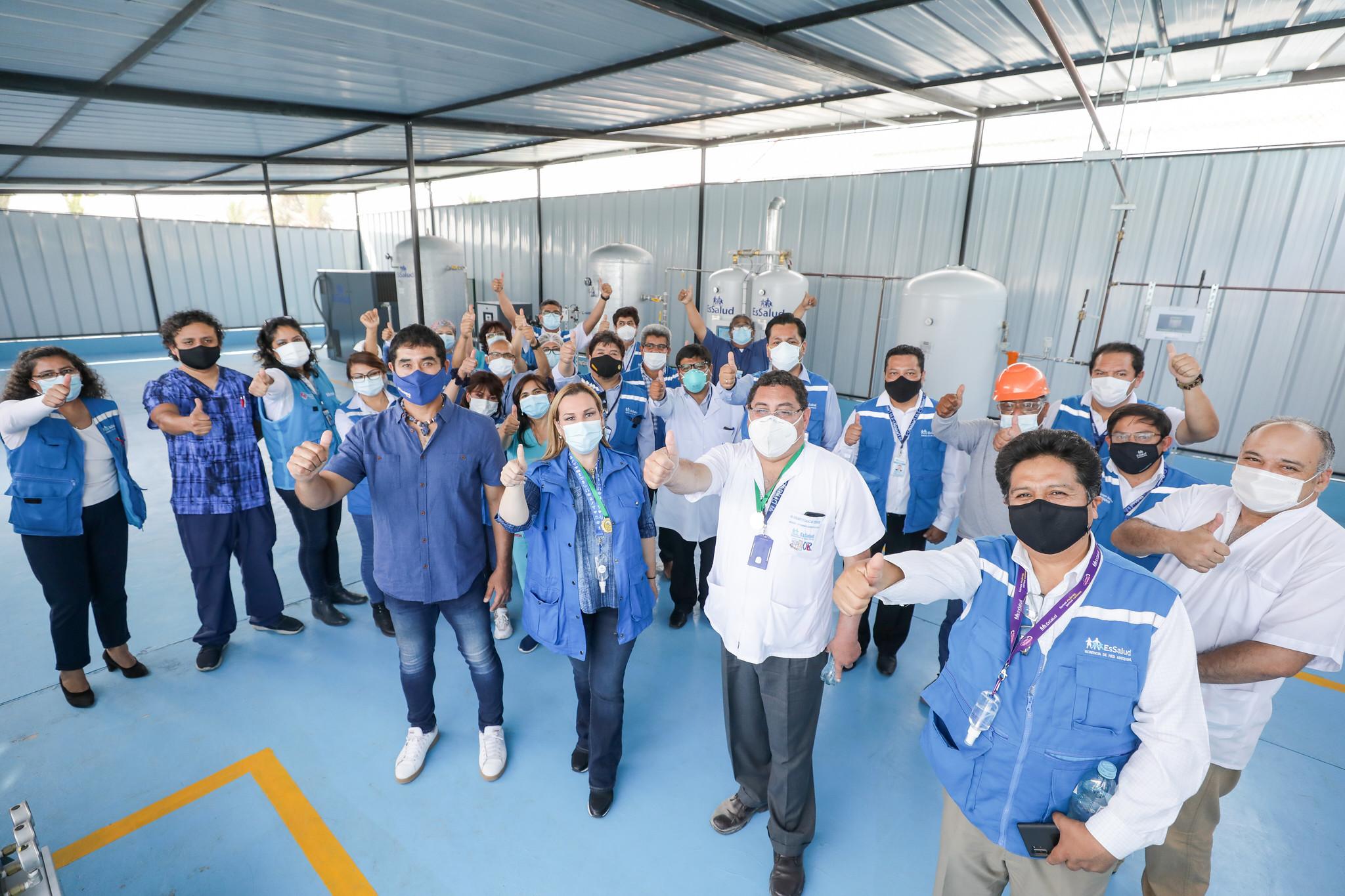 Essalud - Fiorella Molinelli:  Contagios por Covid-19 en Arequipa bajaron de 5 mil casos semanales a casi 300