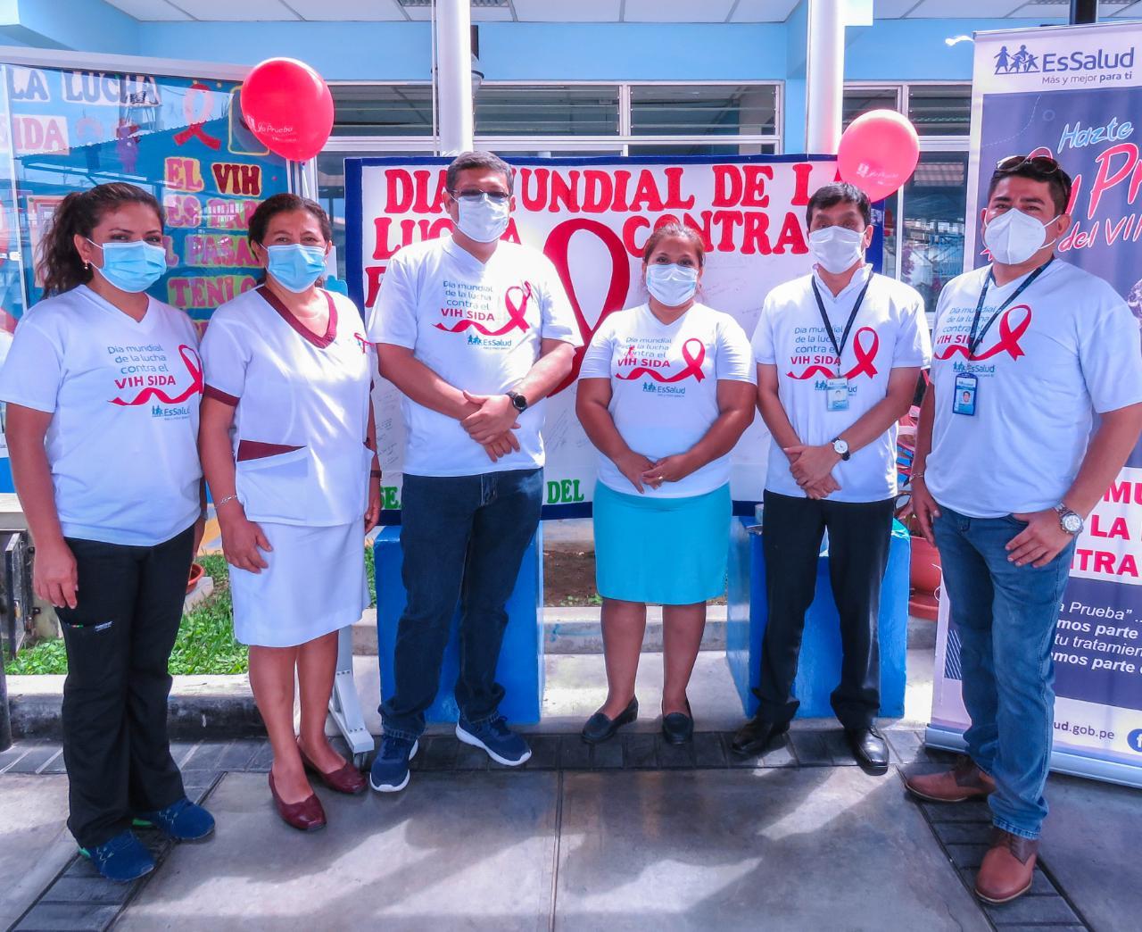 Essalud - EsSalud Tumbes, durante todo el mes, realizará actividades preventivas sobre el VIH