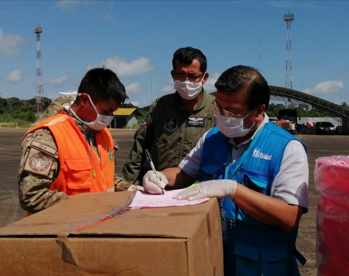 Essalud - EsSalud distribuyó más de 35 toneladas de medicamentos e insumos médicos en Madre de Dios durante la pandemia