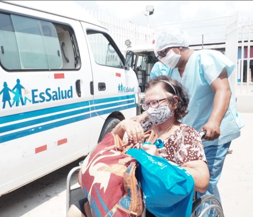 Essalud - EsSalud Ucayali refuerza sus protocolos de bioseguridad para consolidar prevención ante la Covid-19