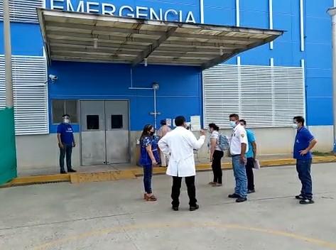 Essalud - EsSalud Tarapoto fortalece área Covid-19 de Hospital II