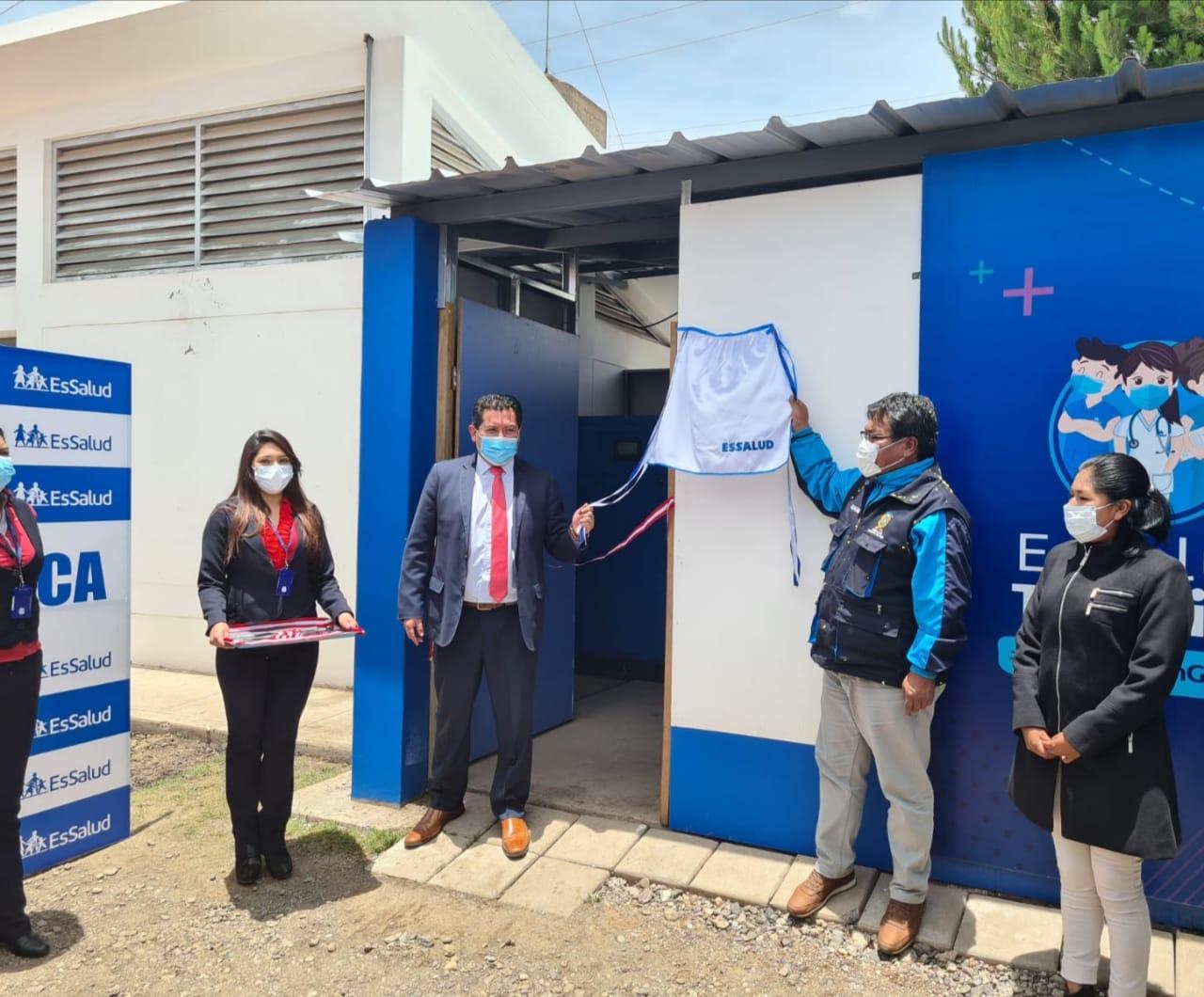 Essalud - EsSalud pone en marcha moderna planta de oxígeno en Hospital III Juliaca