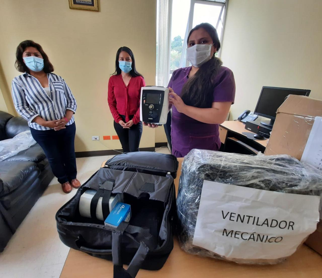 EsSalud Apurímac fortalece atención de pacientes Covid-19 con nuevos ventiladores de transporte para Hospital II Abancay
