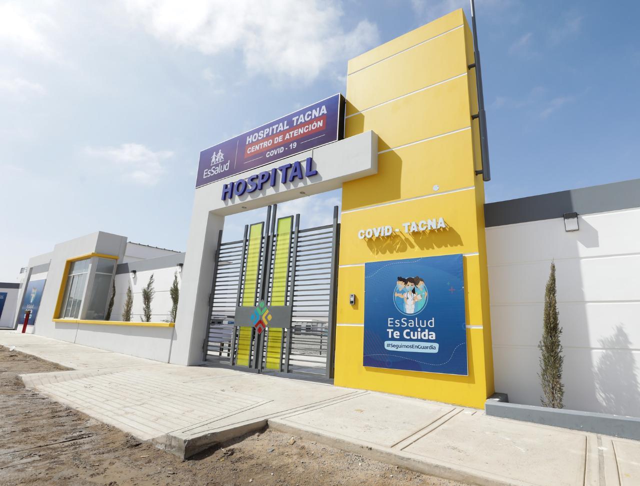 Essalud - EsSalud continuará con administración de Centro de Atención Covid-19 de hospital regional de Tacna