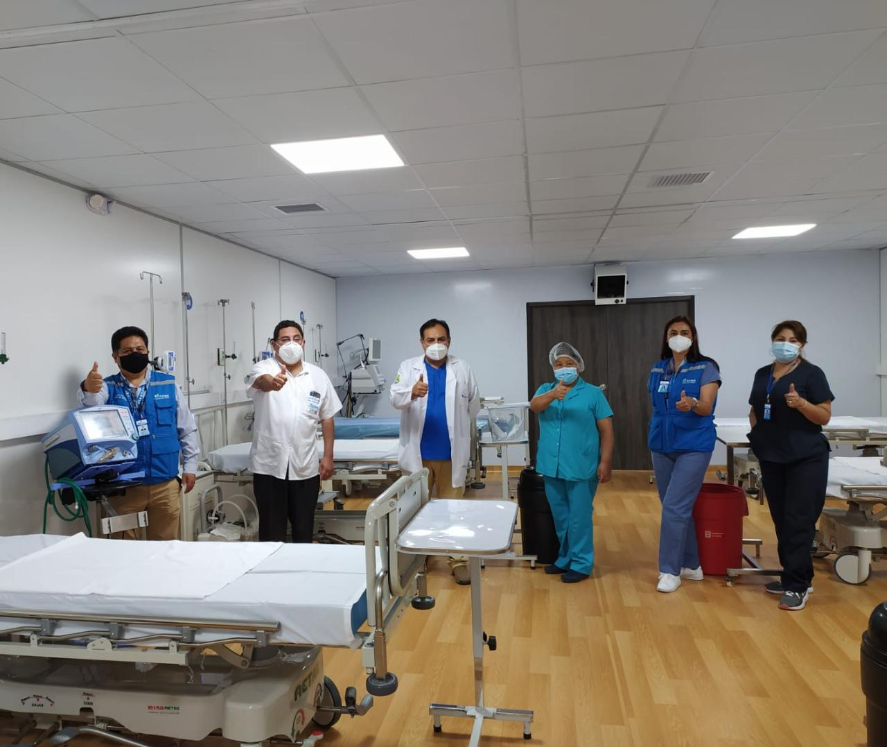 Essalud - EsSalud Arequipa habilita 12 camas UCI adicionales en la Villa Cerro Juli para atención de pacientes críticos Covid-19