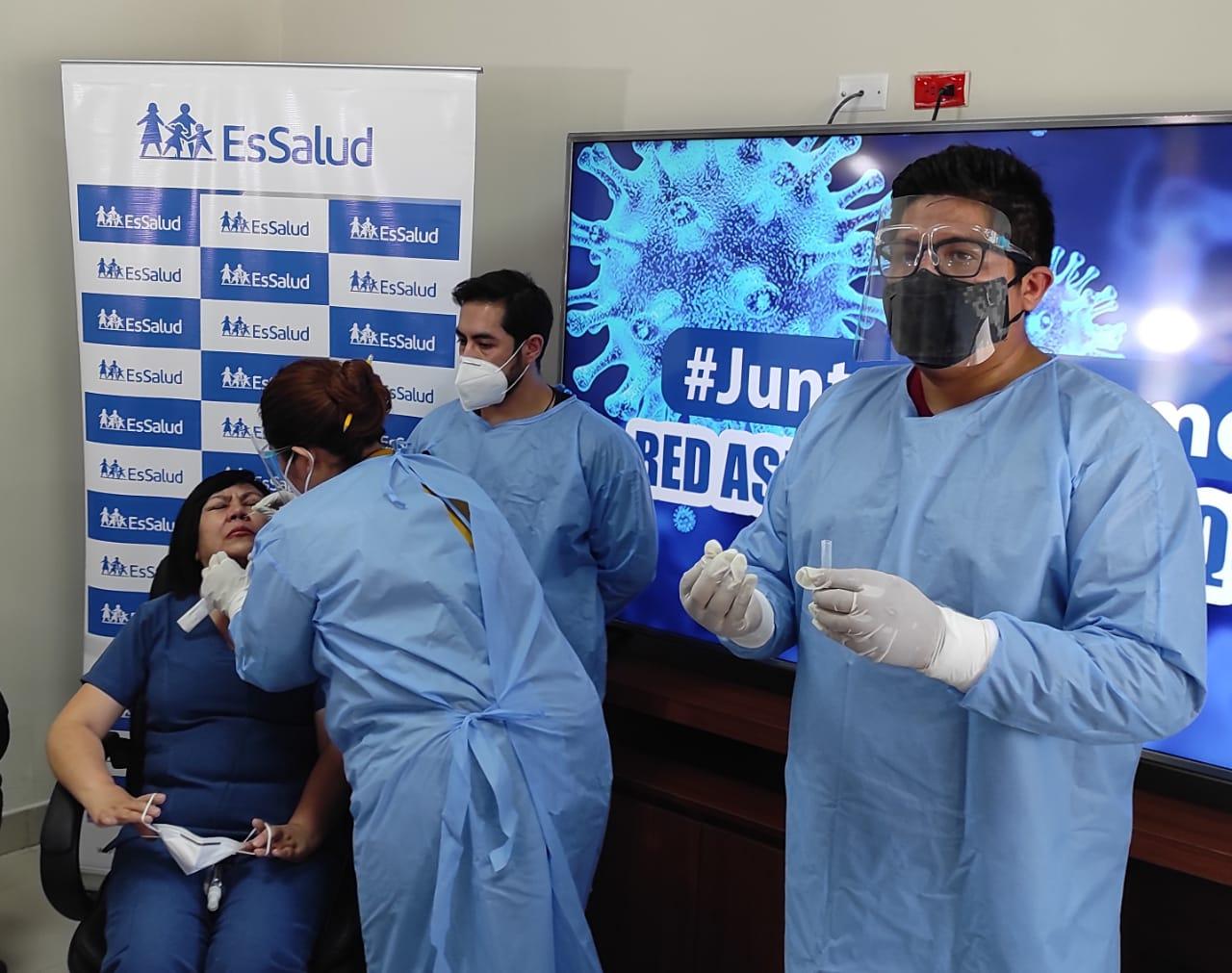 Essalud - EsSalud Arequipa adquiere 32 mil pruebas antigénicas para descarte de Covid-19