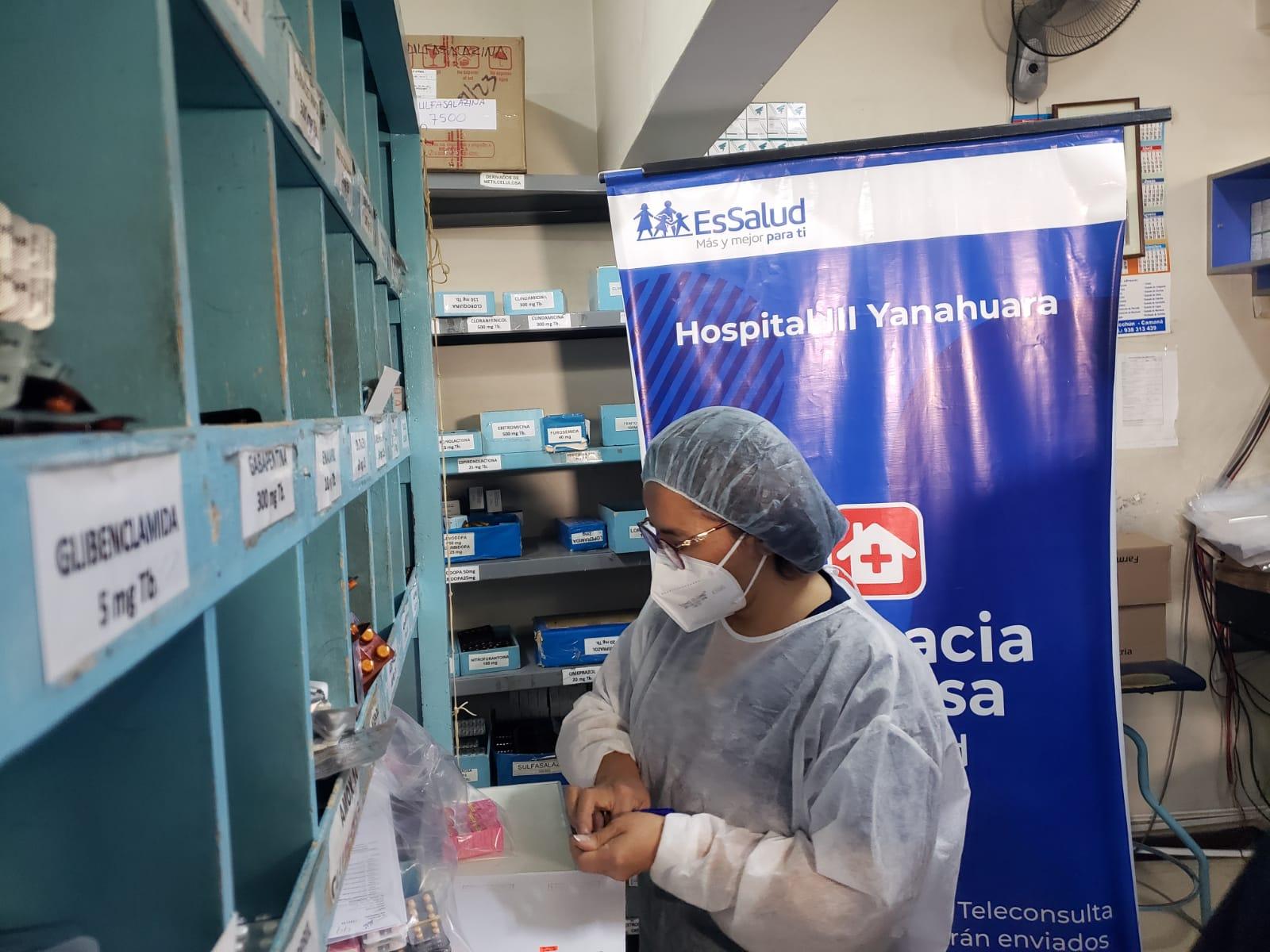 Essalud - EsSalud Arequipa: reparto de medicamentos a domicilio se incrementó hasta en 600% en Yanahuara